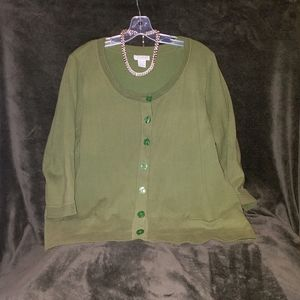 Alfred Sung Womens Sweater
